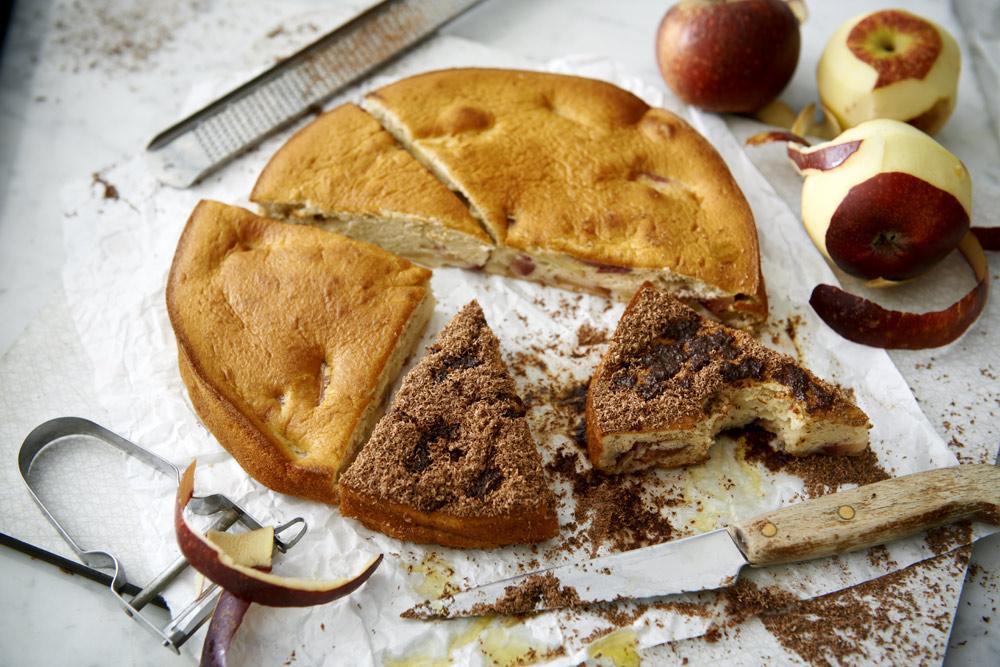 Recept från Zeta. Italiensk äppelkaka_w_li