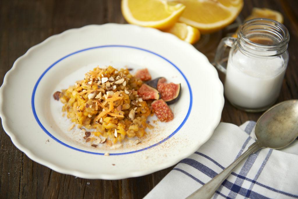 Recept från Zeta. apelsin_mandelgröt_li