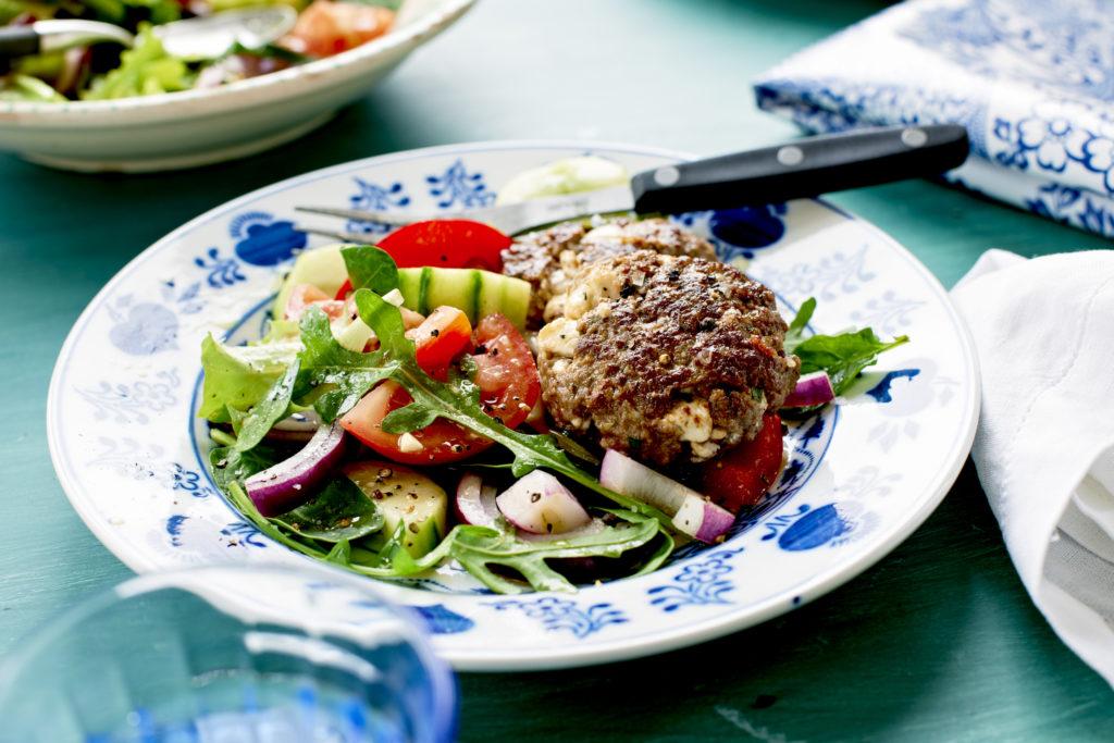 grilla köttfärsbiffar recept
