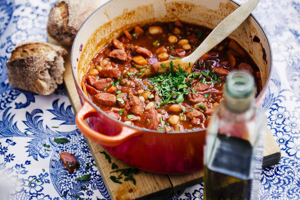 Recept från Zeta. Italiensk_gryta_Stufato_med_salsiccia_li