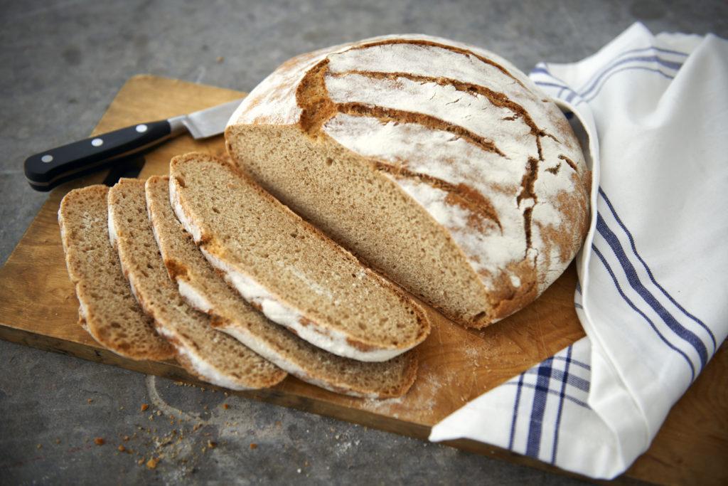 Recept från Zeta. Italienskt lantbröd_li