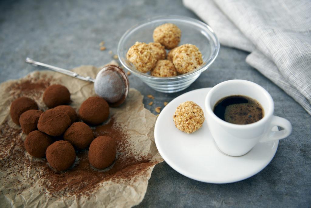 Recept från Zeta. Chokladtryffel med vit choklad