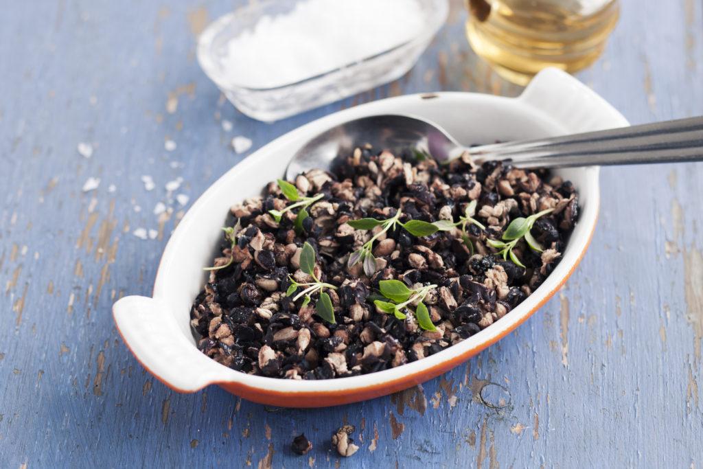 Recept från Zeta. Rostade-svarta-bonor