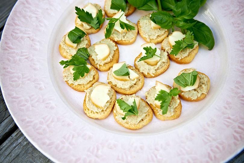 recept från zeta.nu crostini med scamorza