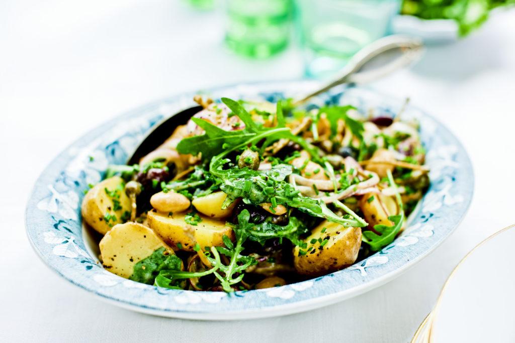 Recept från Zeta. potatissallad-med-bonor
