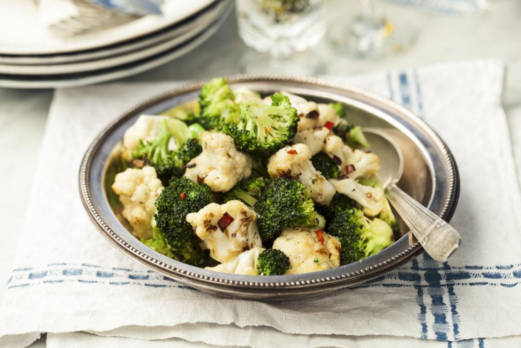 Recept från Zeta: Chilistekt broccoli och blomkål
