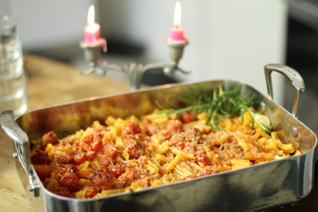 Recept från Zeta: Cavateli Al Forno