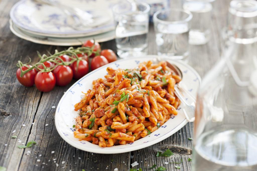 Recept från Zeta: Gemelli med pancetta