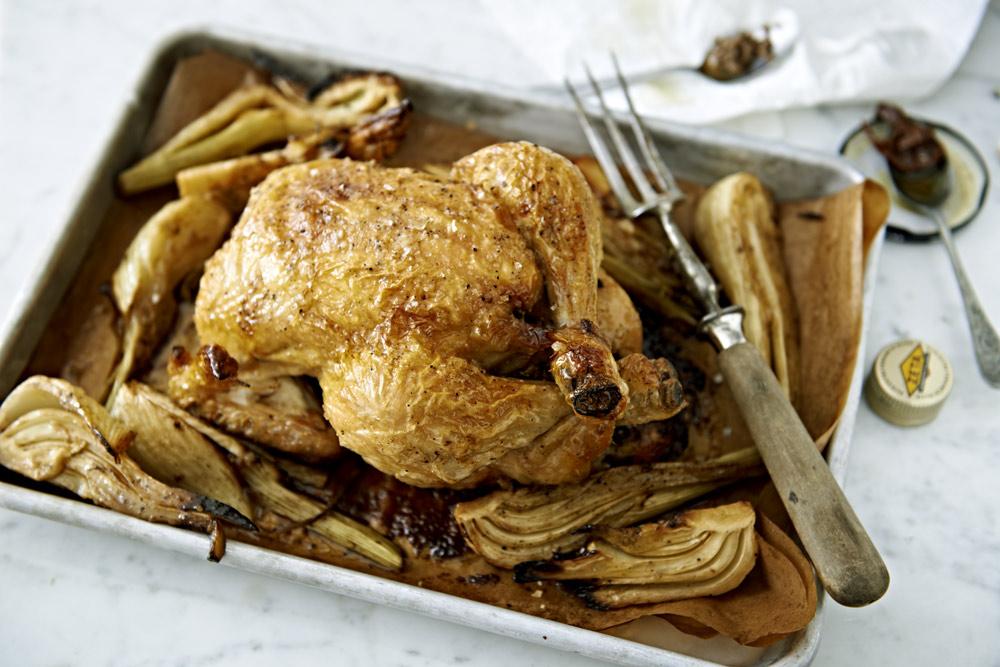 Recept från Zeta: Fylld ugnsrostad kyckling