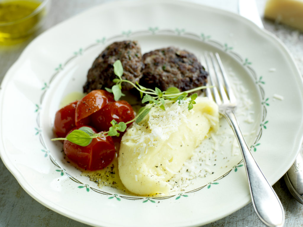 Recept från Zeta: Italienska köttbiffar med inkokt tomat