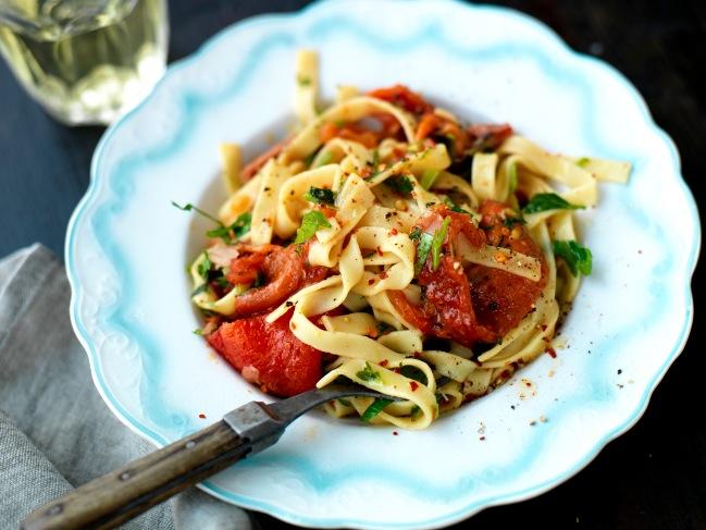 Recept från Zeta: Mama Theresas pasta med prosciutto crudo