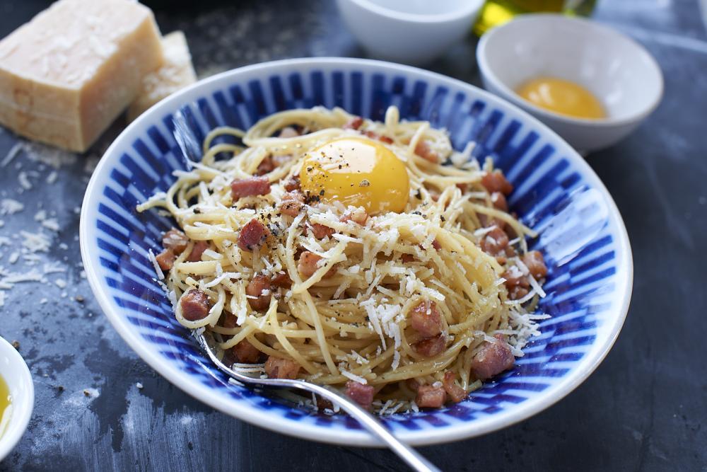Recept från Zeta: Pasta Carbonara