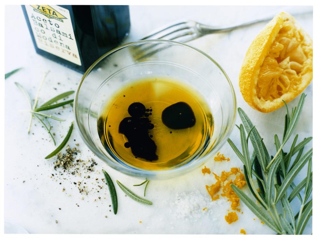 Recept från Zeta: Vinägrett med rosmarin och apelsin