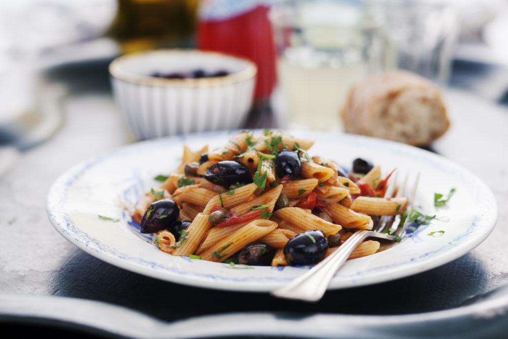 Recept från Zeta: Pennette Rigate alla Puttanesca