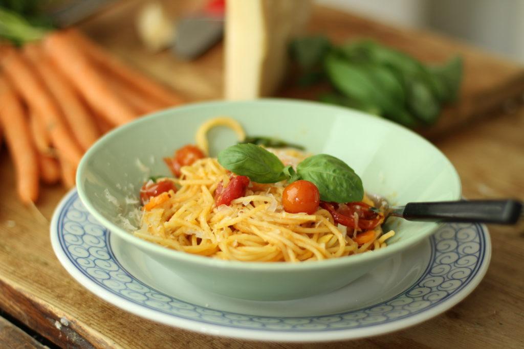 Recept från Zeta: Spaghetti al telefono