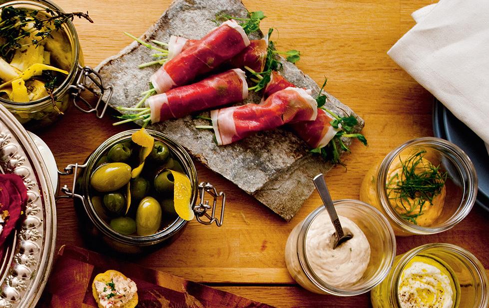 Recept från Zeta: Prosciutto- och parmesanrullar