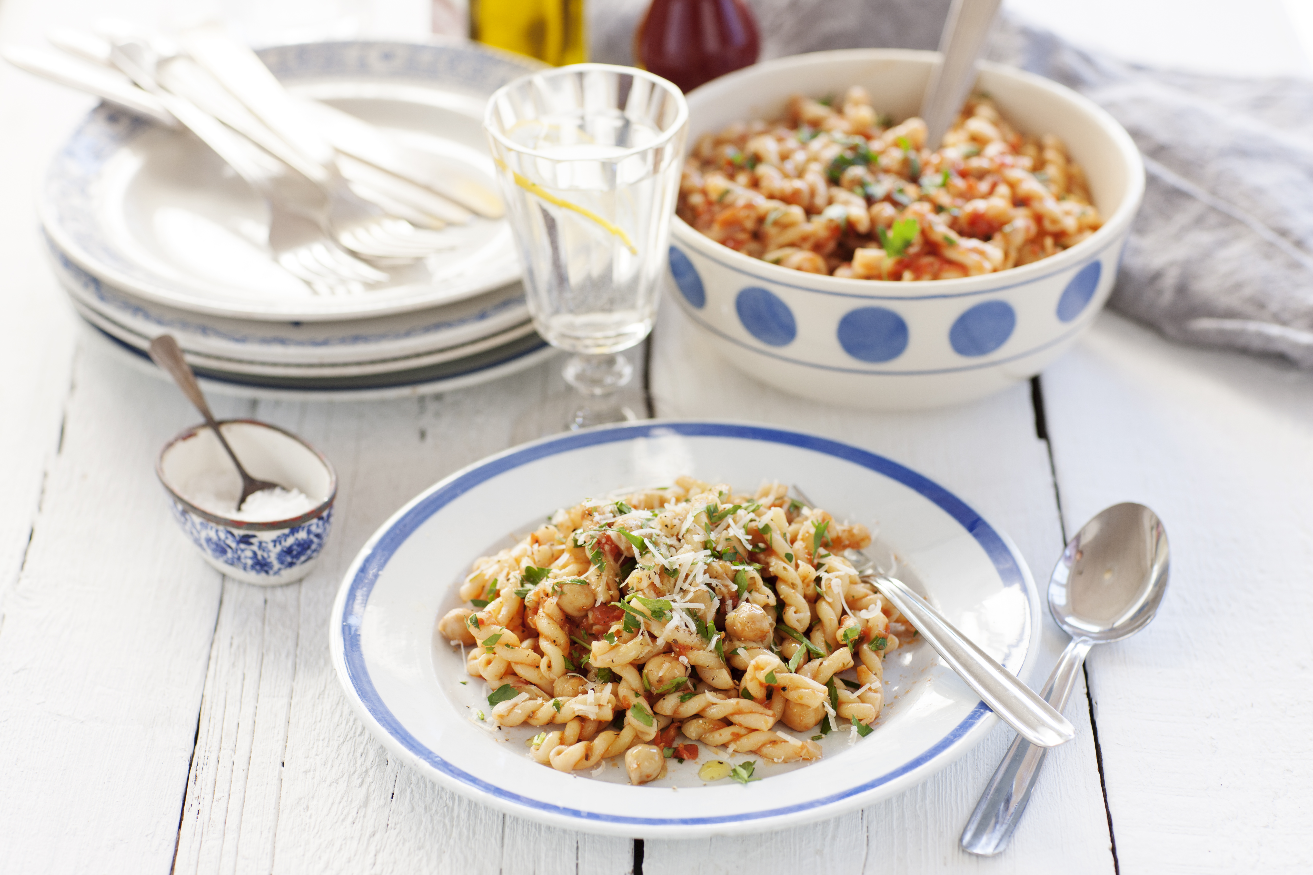 zeta recept pasta