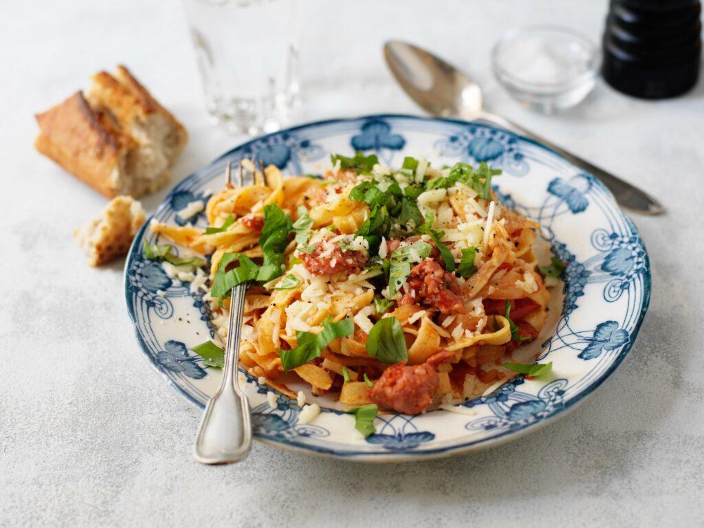 Recept For Pasta Italiensk Pasta Zeta