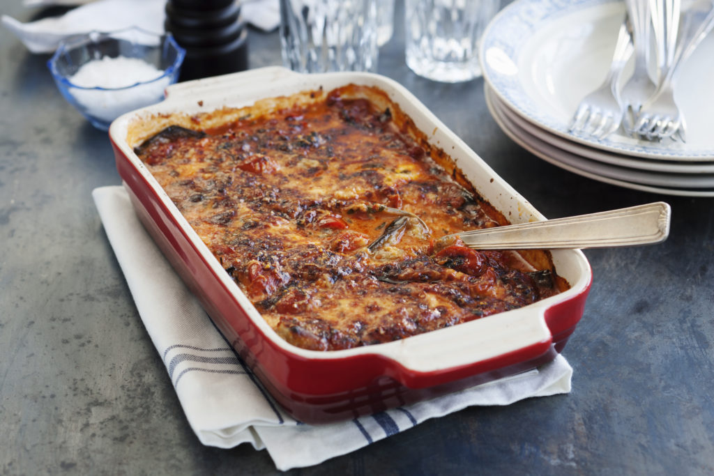 Recept från zeta. Auberginegratang - Melanzane alla parmigiana