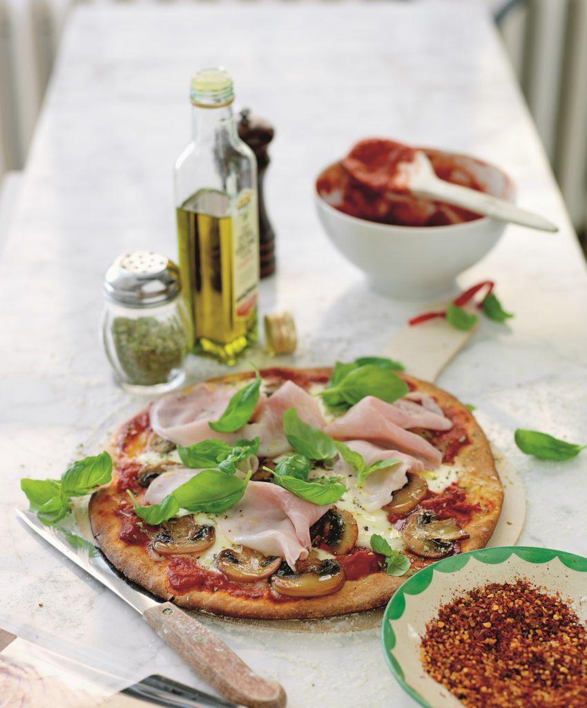 Recept från zeta.nu. Pizza Capricciosa