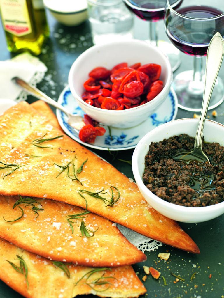 Recept från Zeta. Italienskt bröd