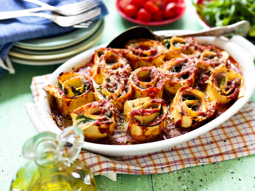 Recept från Zeta. Delizie pastagratäng