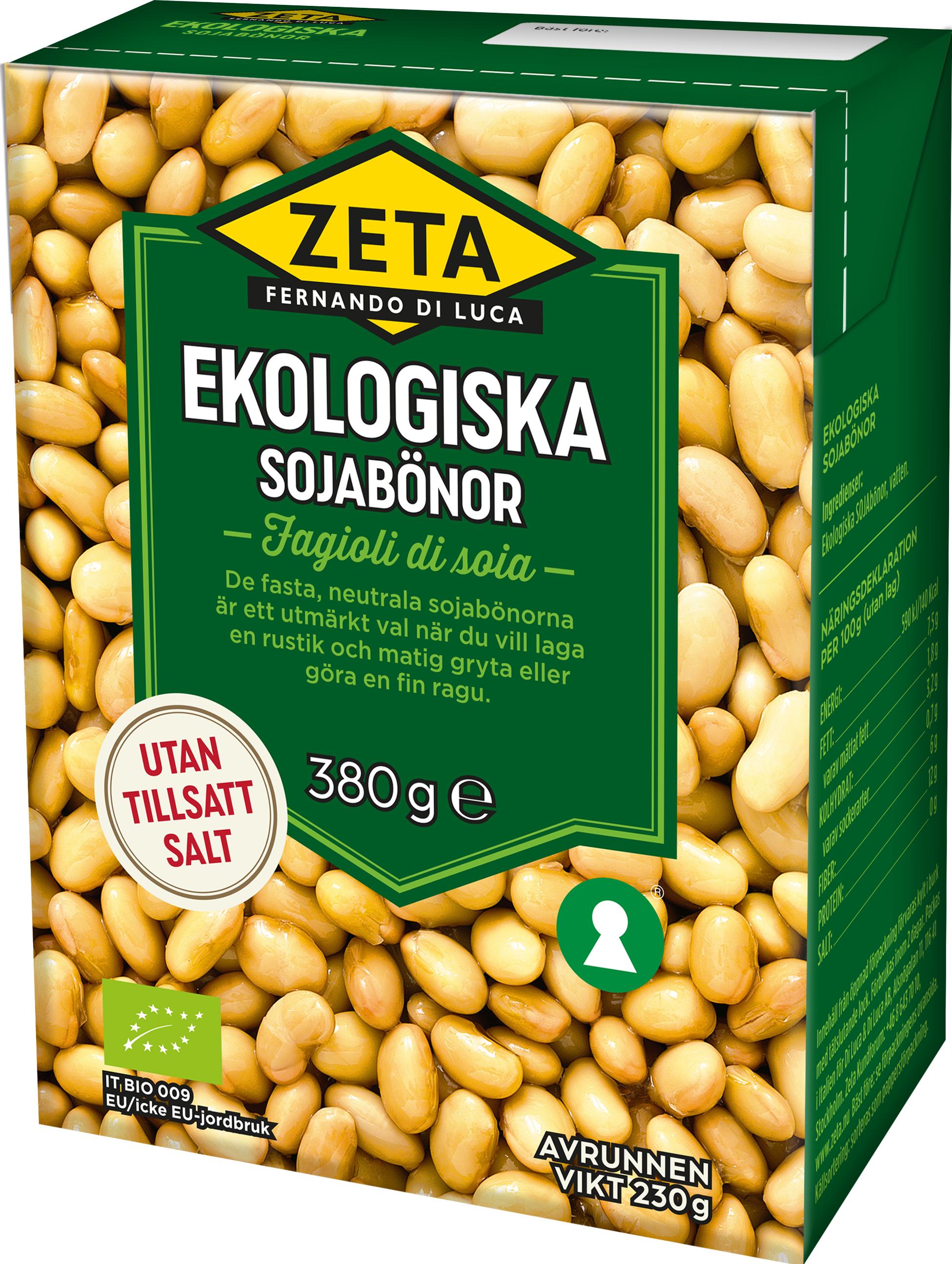 gröna sojabönor näringsvärde
