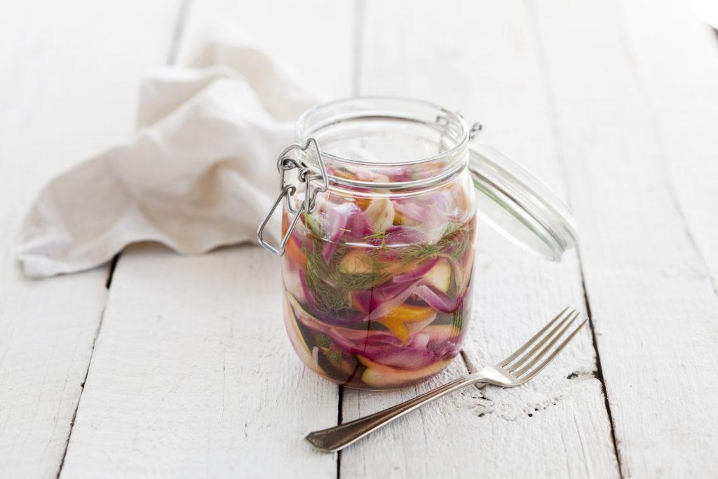 Recept från zeta.nu Picklade grönsaker