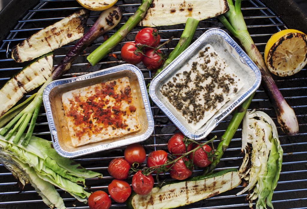 Recept från Zeta.nu grillad fetaost och grönsaker