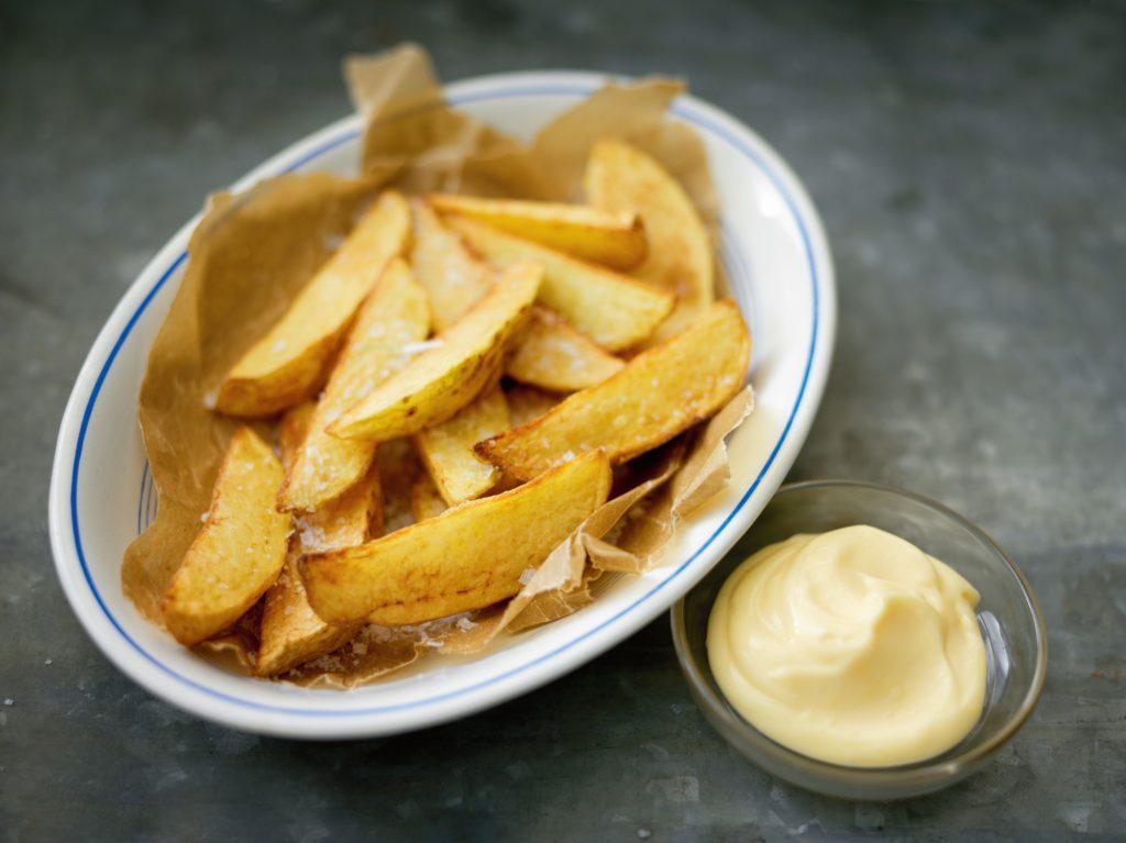 Potatis i ugn med aioli