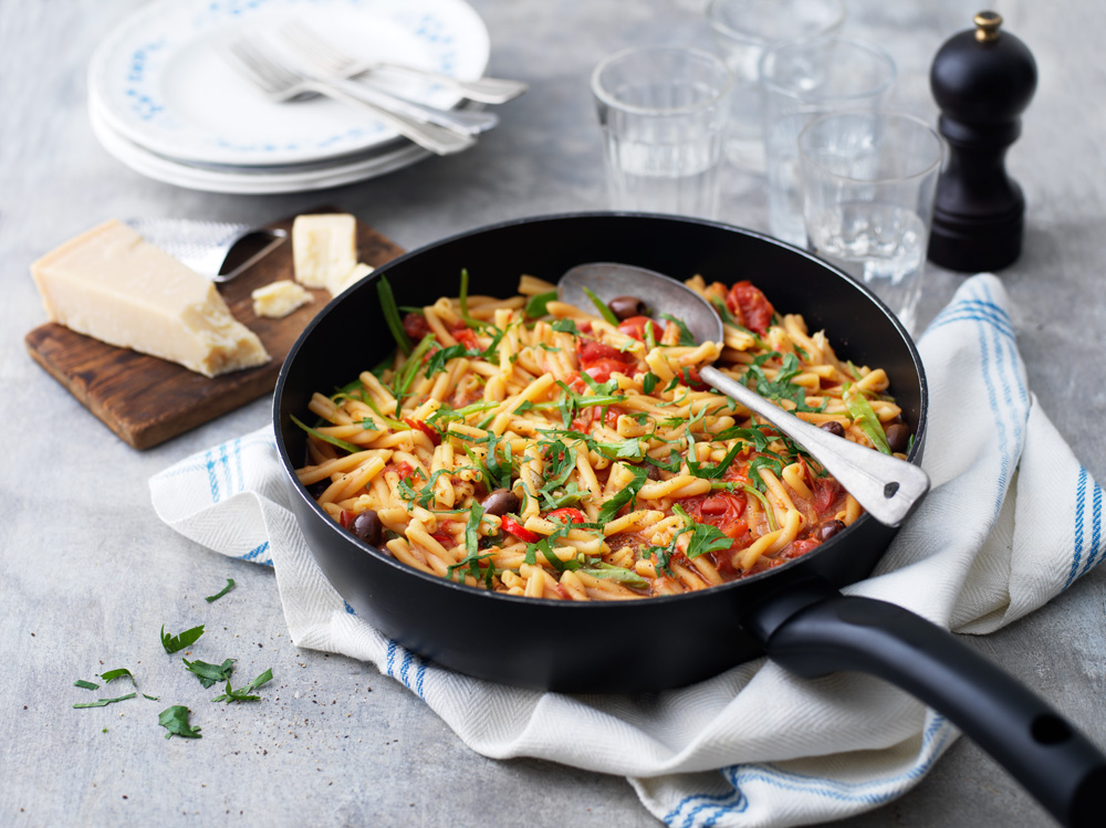 One pot pasta med grönsaker  555be5e655070