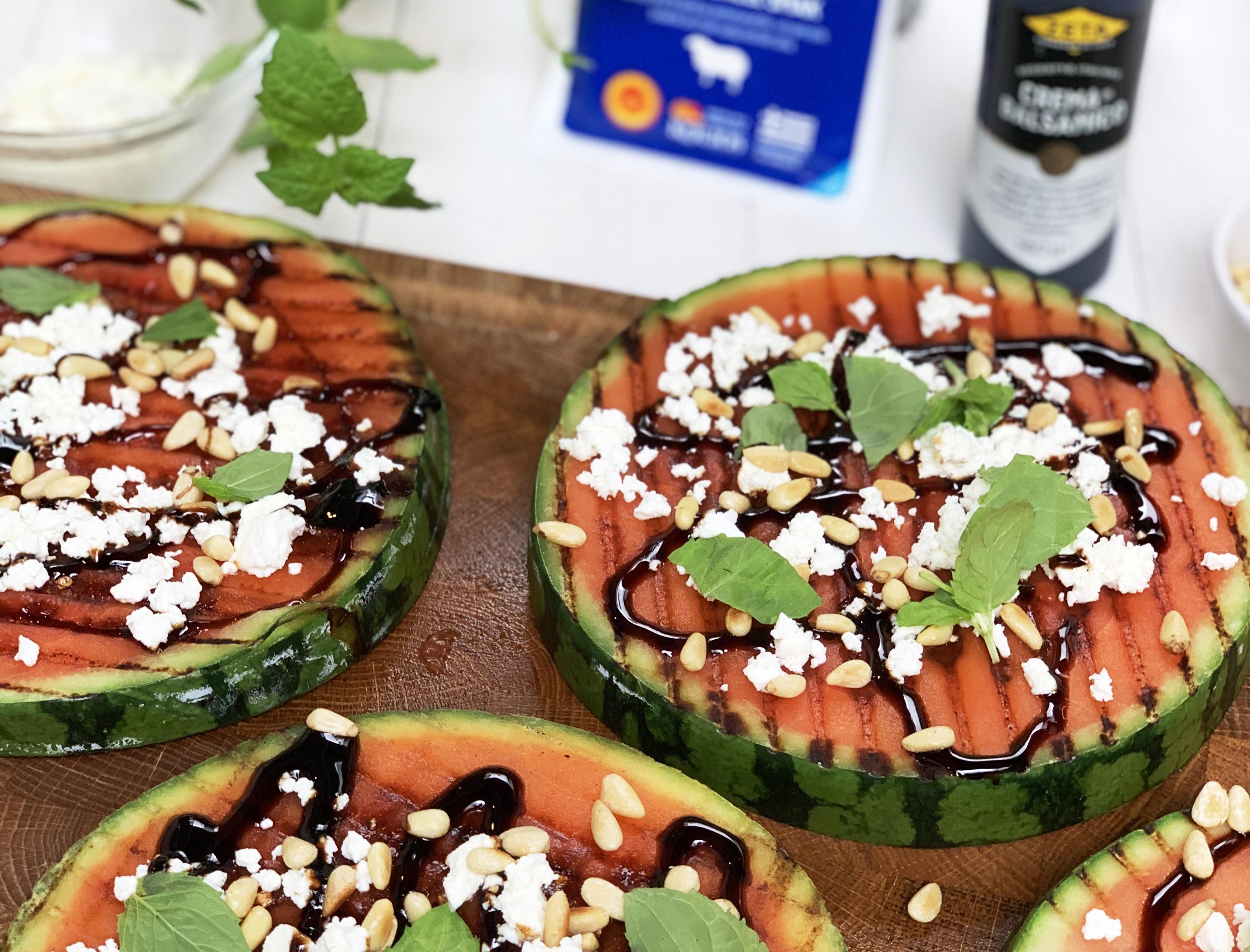 grillad melon recept