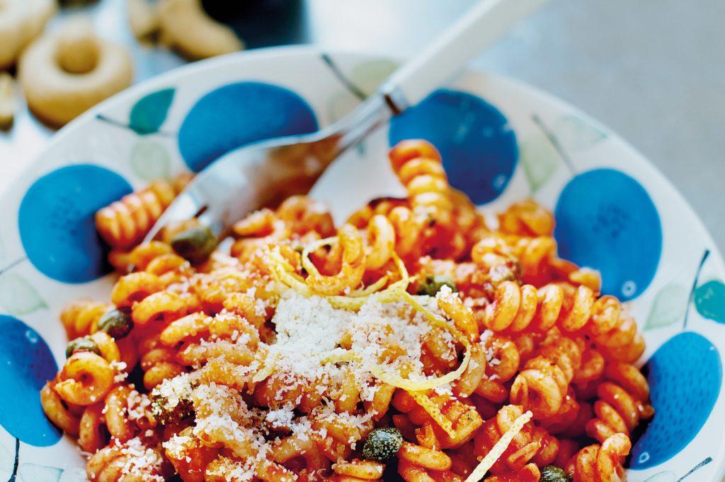 Recept från Zeta. Pasta_Fusilli_på_svärfars_vis_st