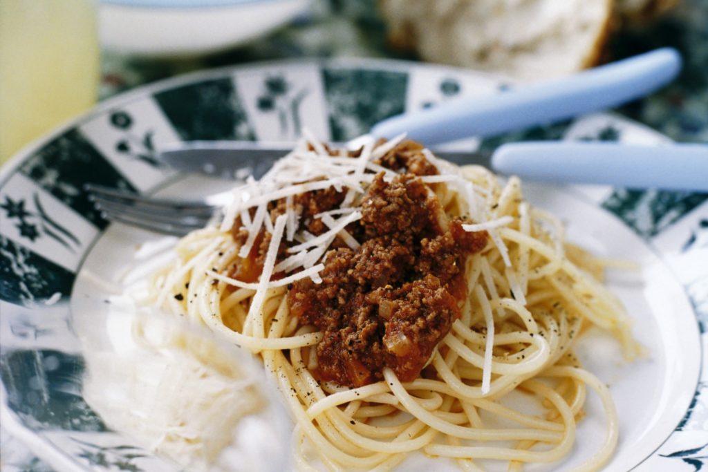 Recept från Zeta. Spaghetti Bolognese