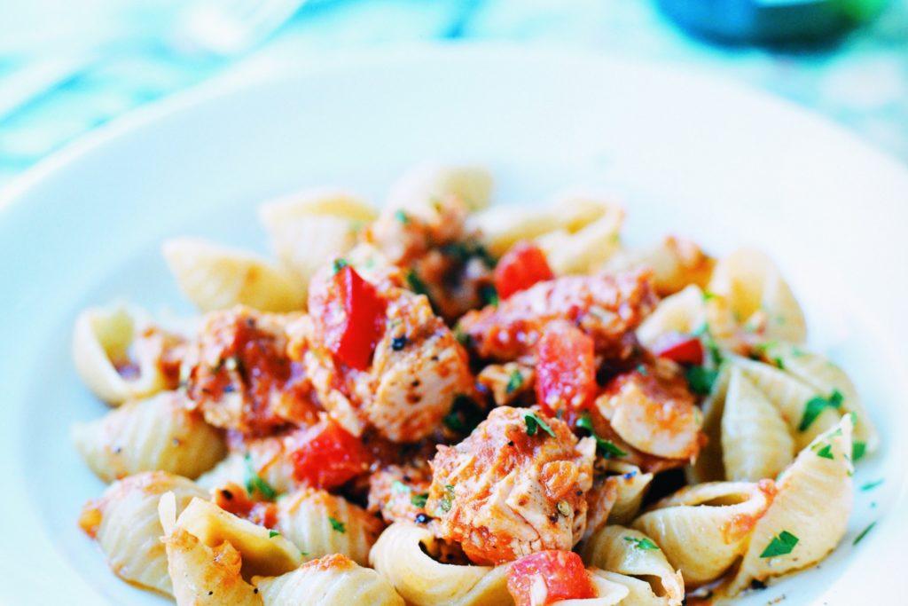 Recept från Zeta. Pasta_med_tonfisk