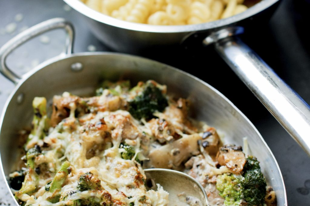 Recept från Zeta: Vegetarisk pastagratäng