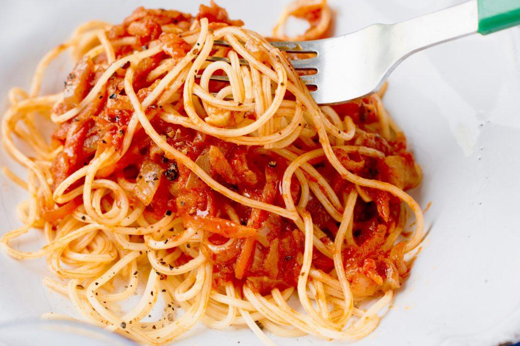 vegetarisk pasta bolognese