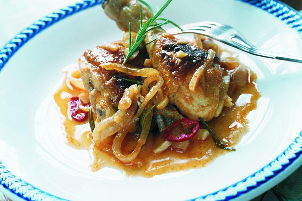 Recept från Zeta. chilibraserad_kyckling