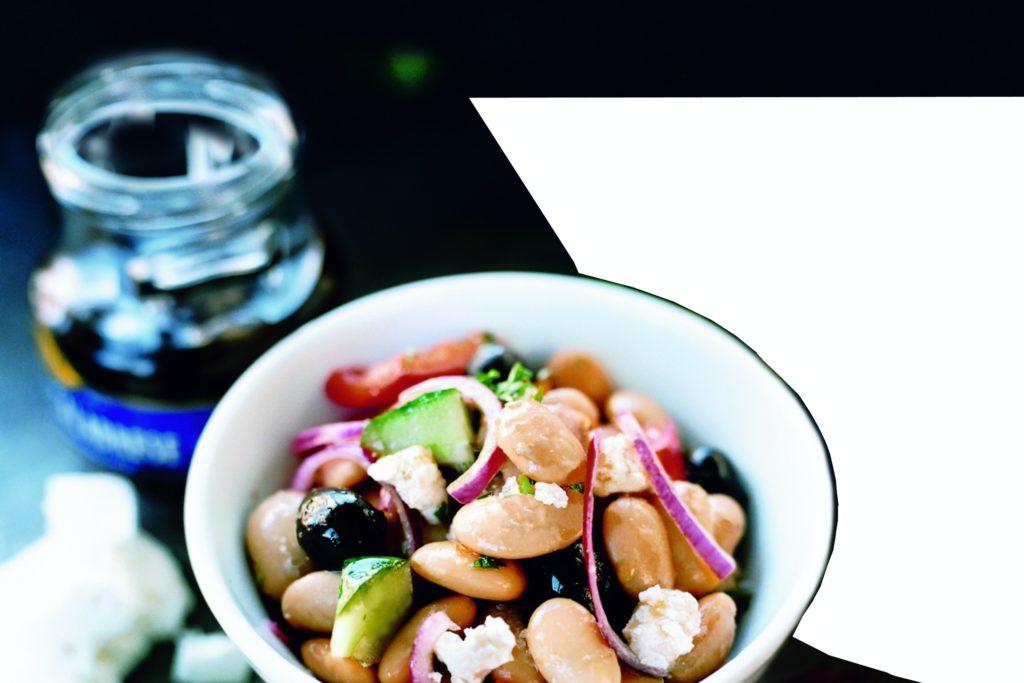 Recept från Zeta. ekologiska-stora-vita-bonor-med-oliver-och-fetaost