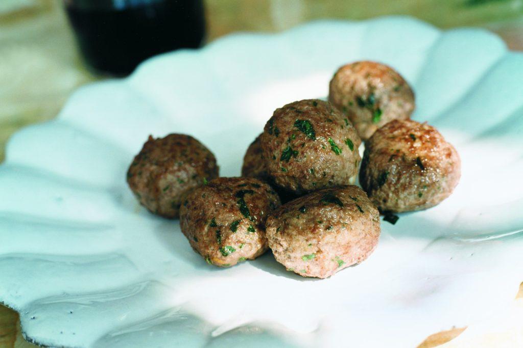 Recept från Zeta. italienska_kottbullar