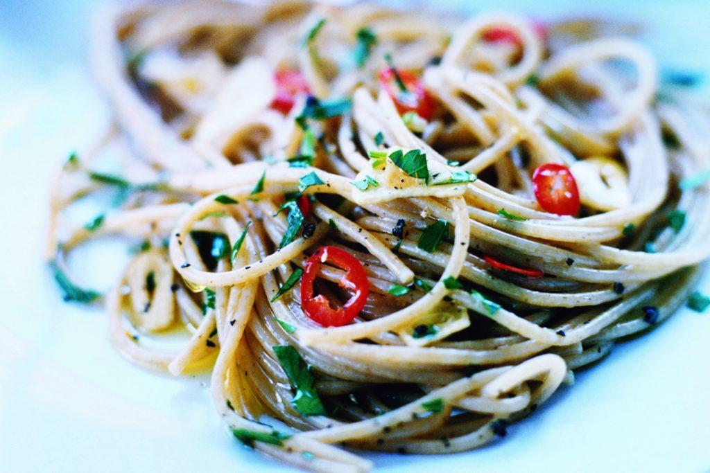 Recept från Zeta. pasta_med_vitlok_och_chili