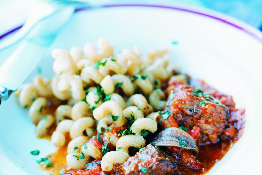 Recept från Zeta: Pasta med oxragu och sardeller