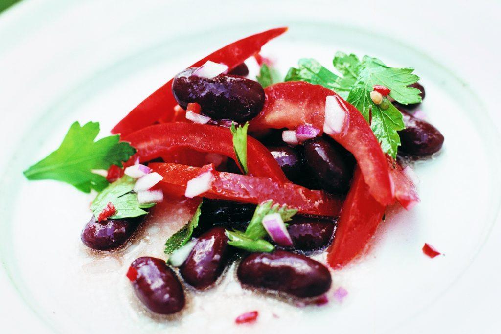 Recept från Zeta: Bön och chilisallad med mangobalsamico