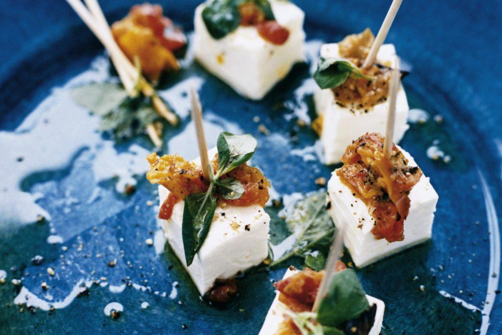 Recept från Zeta: Fetaost med paprika och zucchini