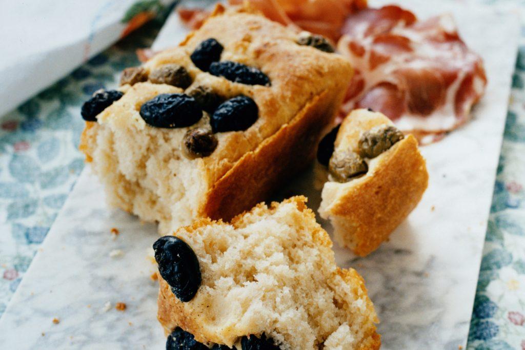 Recept från Zeta: Focacciabröd med oliver