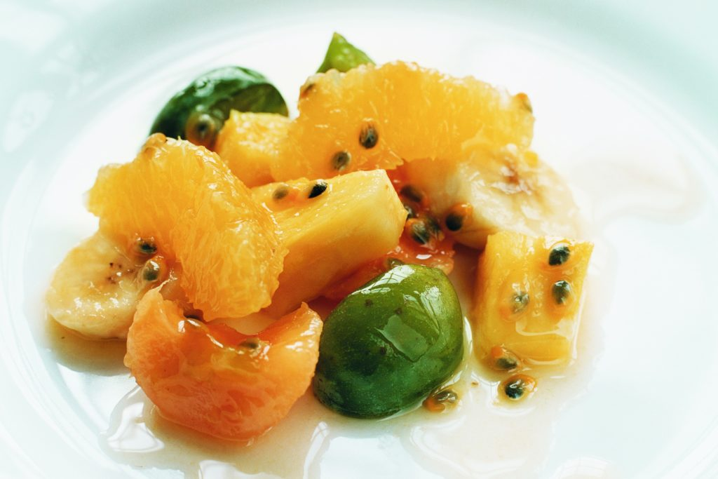Recept från Zeta: Fruktsallad med mangosås