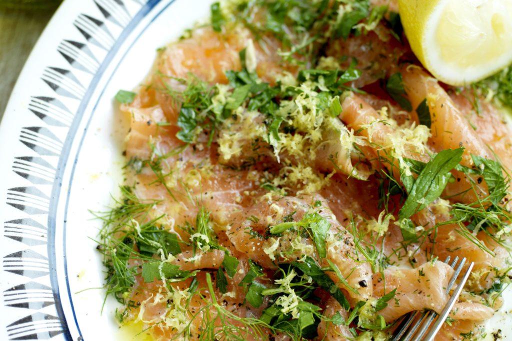 Recept från Zeta: Gravad lax med olivolja