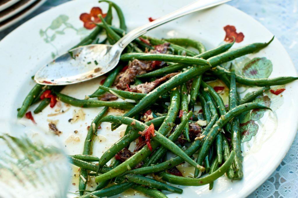 Recept från Zeta: Haricots verts med sardeller och chili