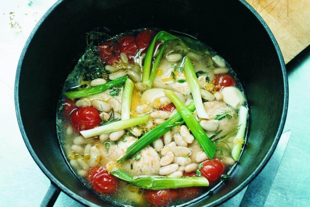 Recept från Zeta: Kyckling- och böngryta