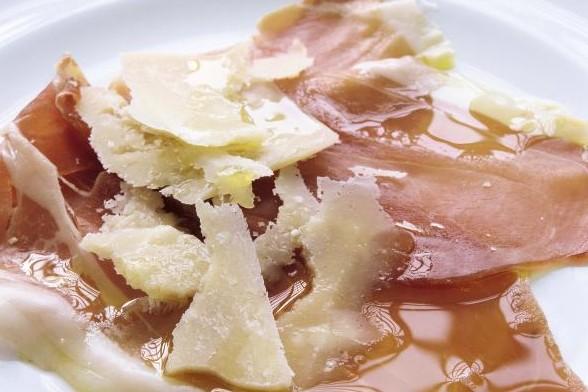 Recept från Zeta: Parmaskinka på carpaccio-vis